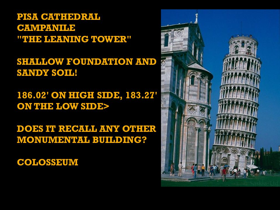 Pisa Cathedral campanile the leaning tower