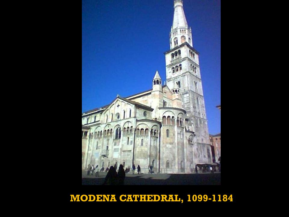 MODENA CATHEDRAL, 1099-1184