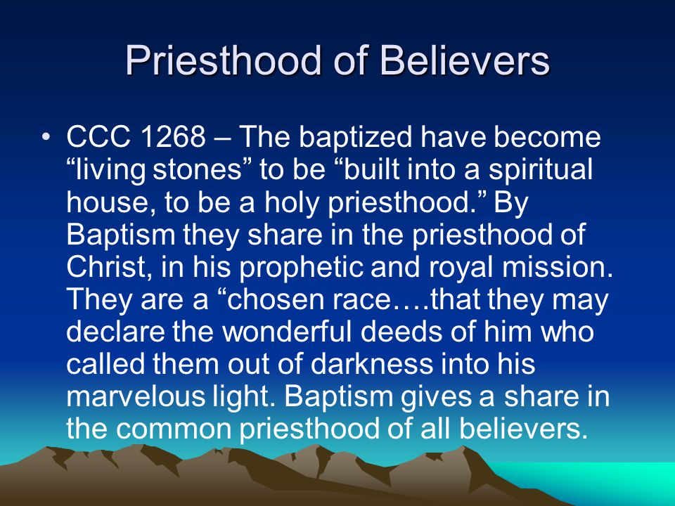 Priesthood of Believers