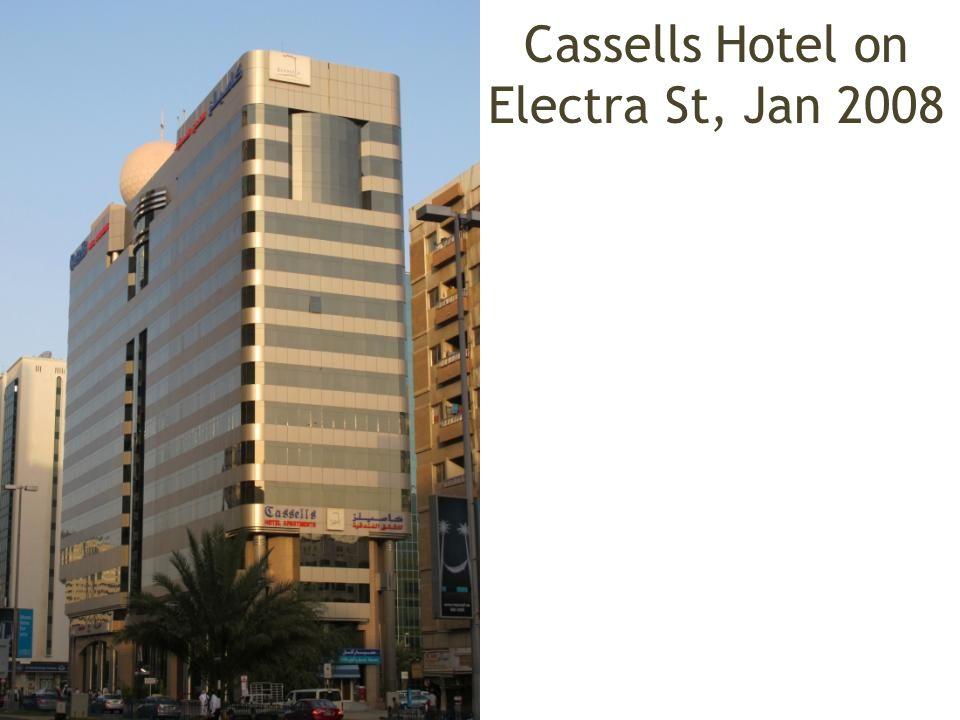 Cassells Hotel on Electra St, Jan 2008