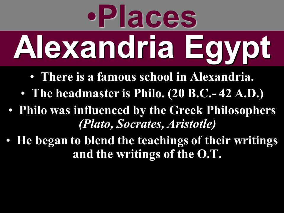 Places Alexandria Egypt