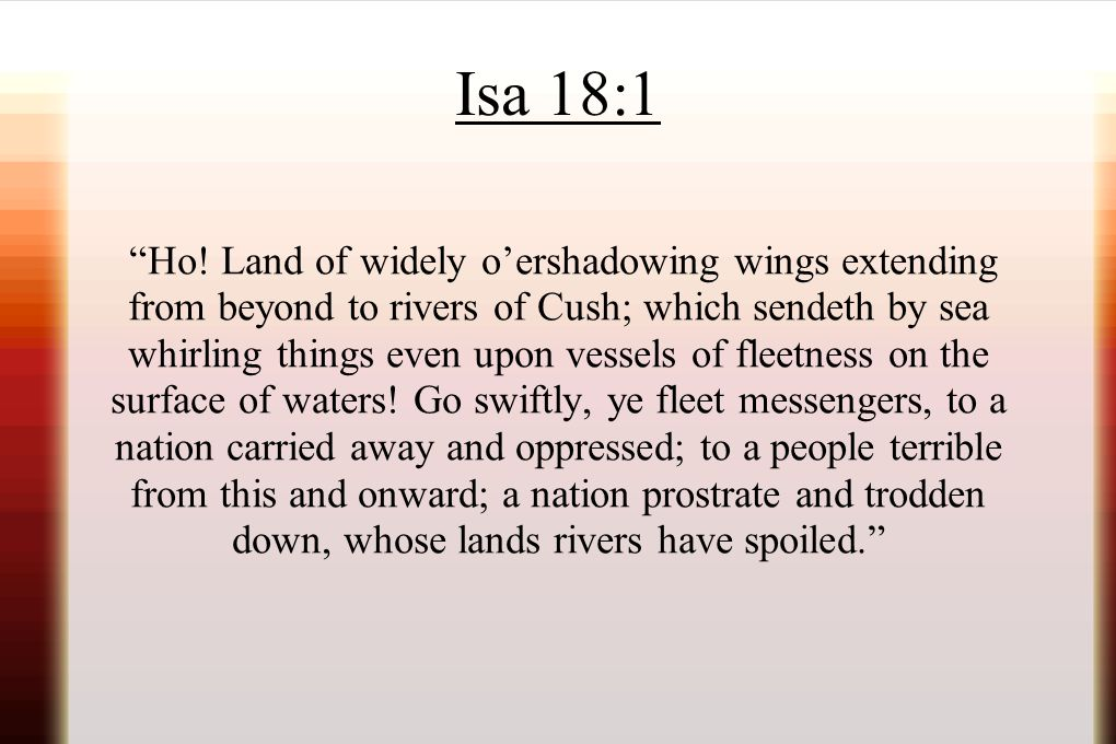 Isa 18:1