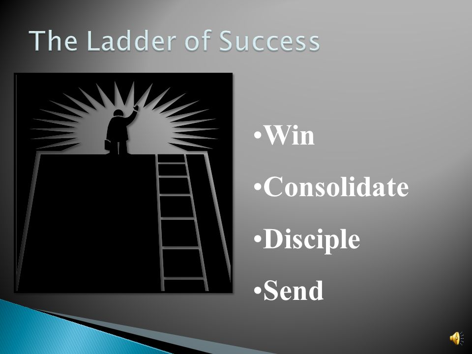 Win Consolidate Disciple Send The Ladder of Success