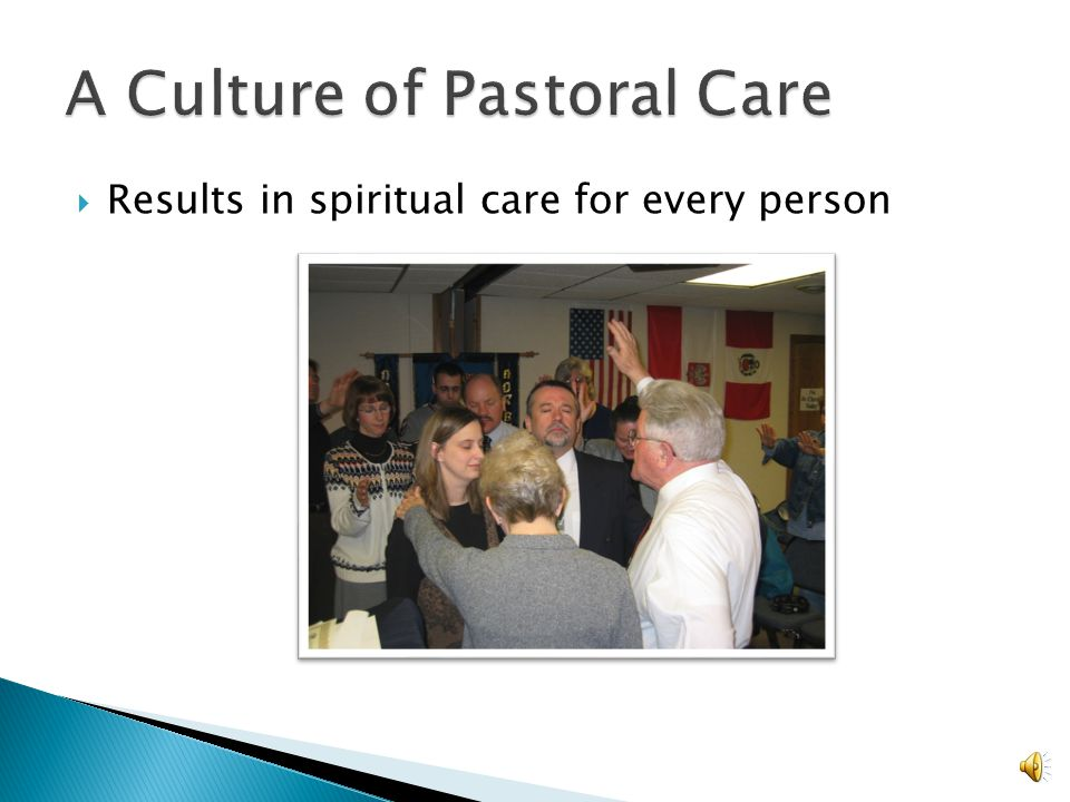 A Culture of Pastoral Care