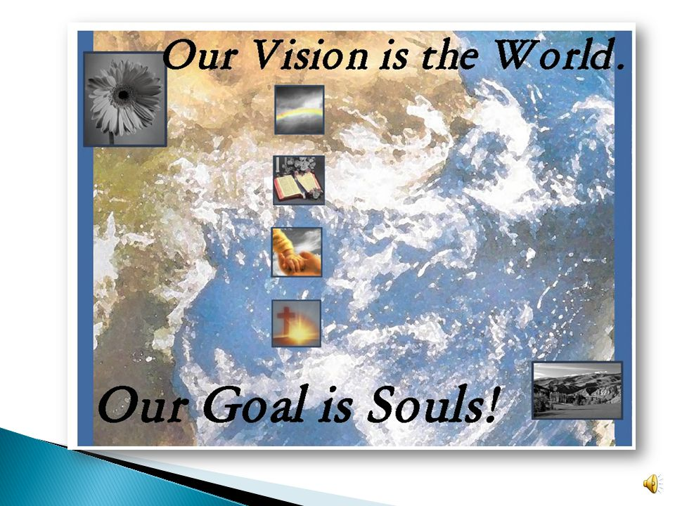 At Frontier Fellowship, our vision is the world, our goal is souls