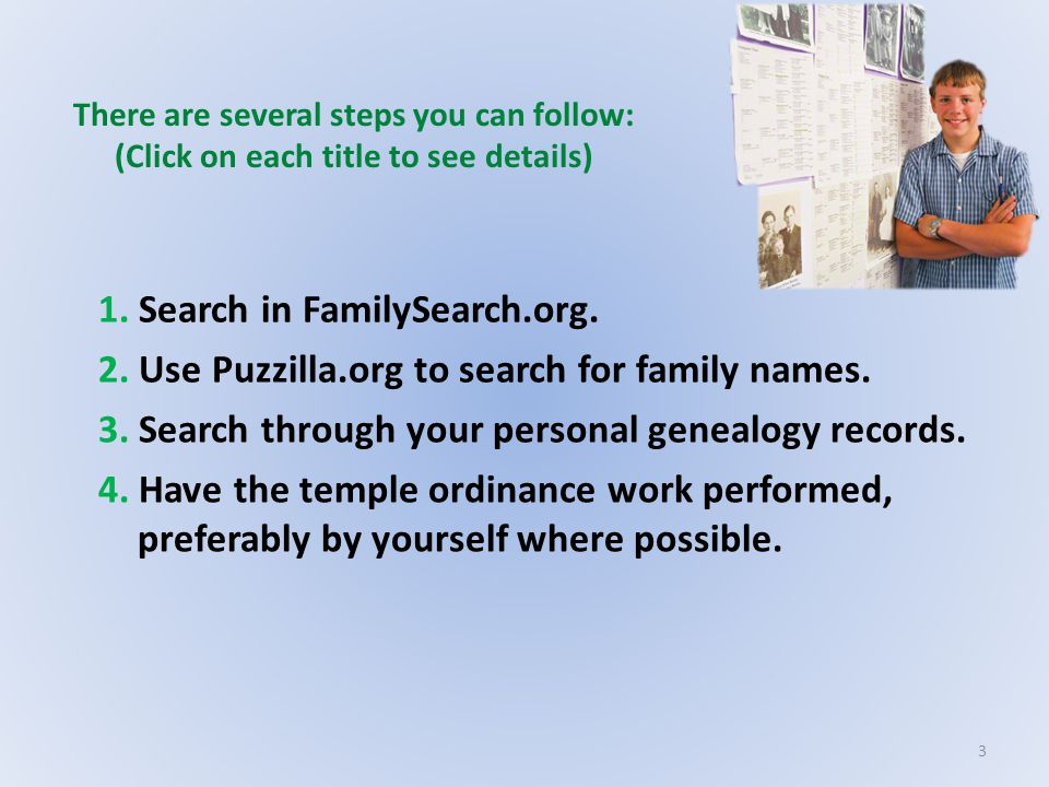 1. Search in FamilySearch.org.