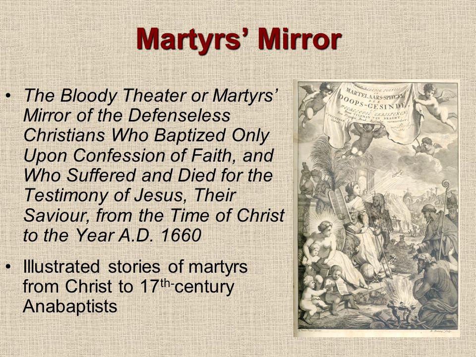 Martyrs' Mirror