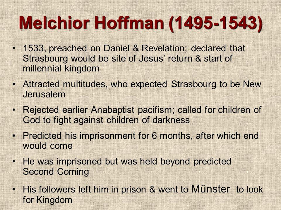 Melchior Hoffman (1495-1543)