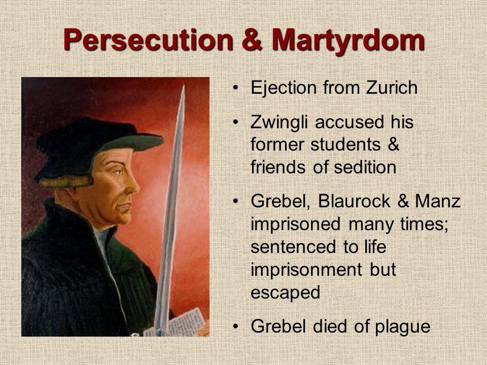Persecution & Martyrdom