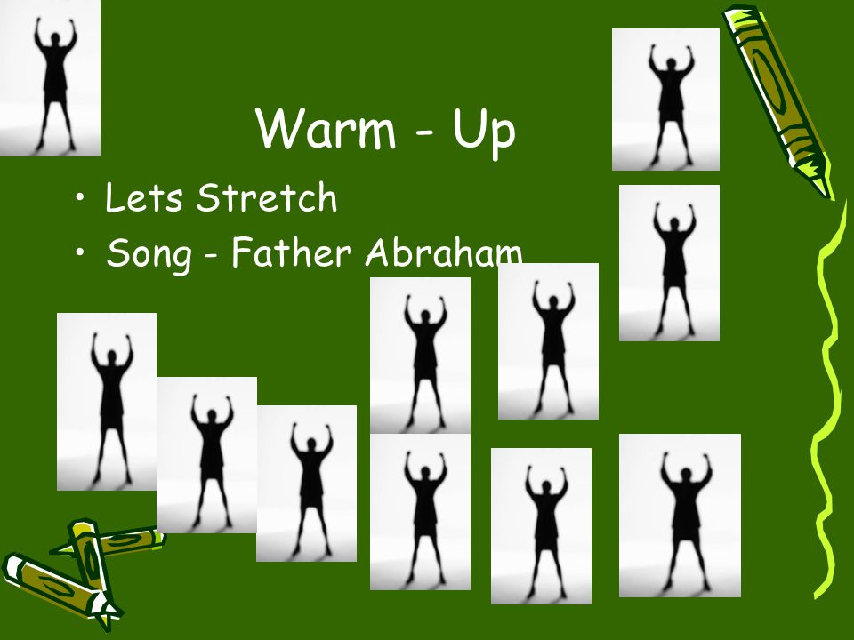 Warm - Up Lets Stretch Song - Father Abraham