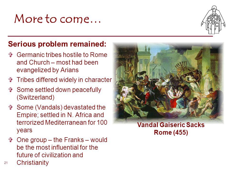 Vandal Gaiseric Sacks Rome (455)