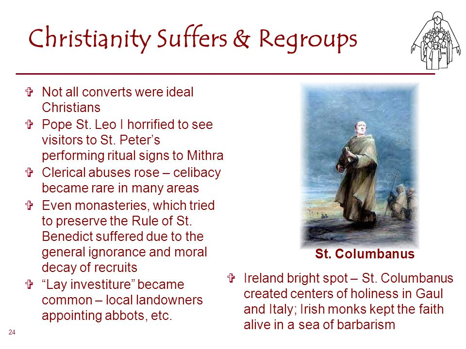 Christianity Suffers & Regroups