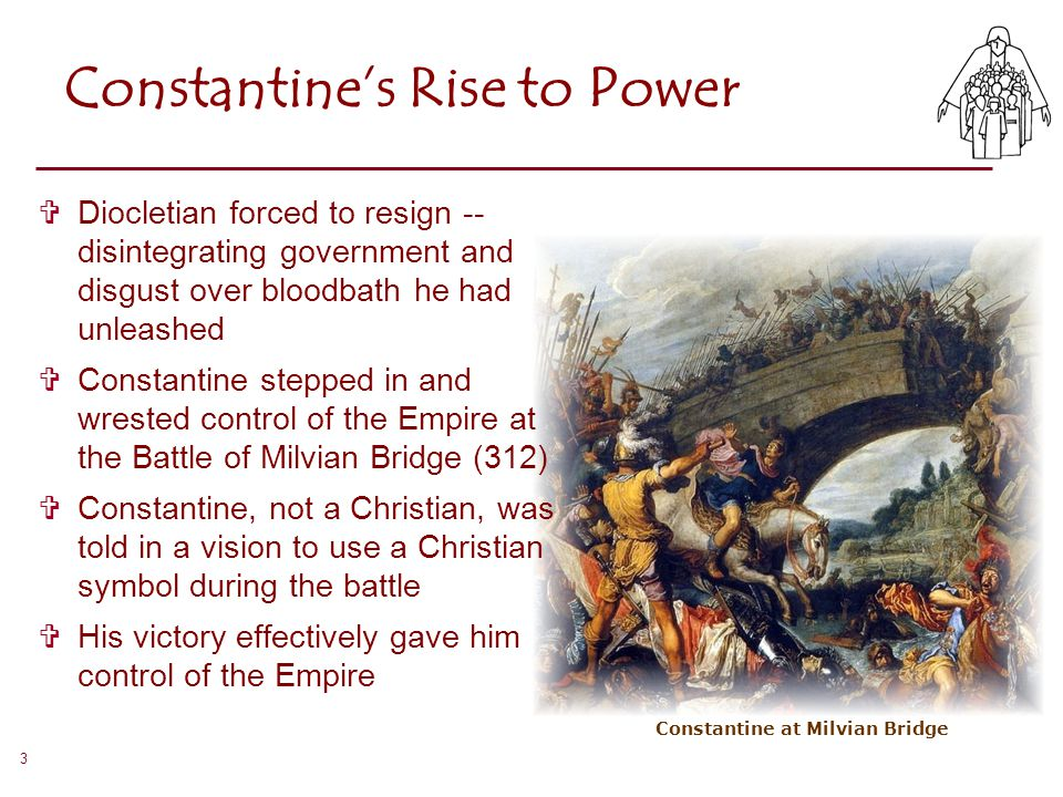 Constantine's Rise to Power