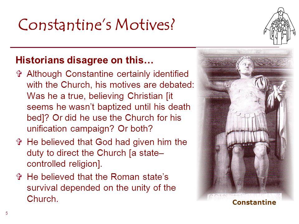 Constantine's Motives