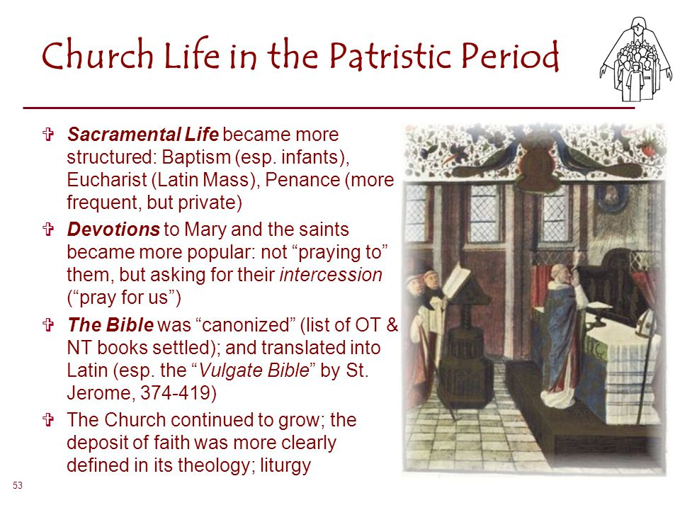Church Life in the Patristic Period