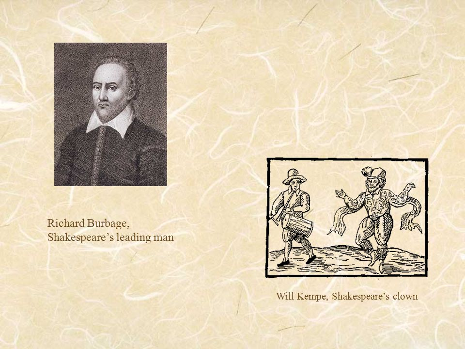 Will Kempe, Shakespeare's clown