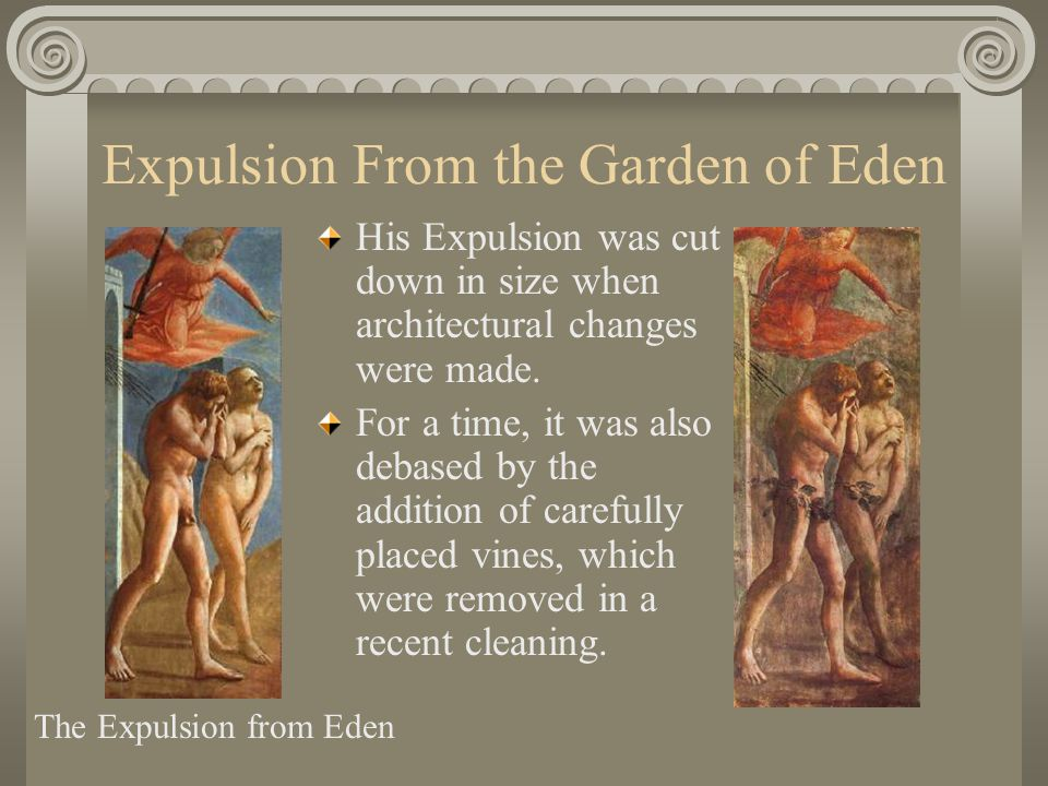 Expulsion From the Garden of Eden