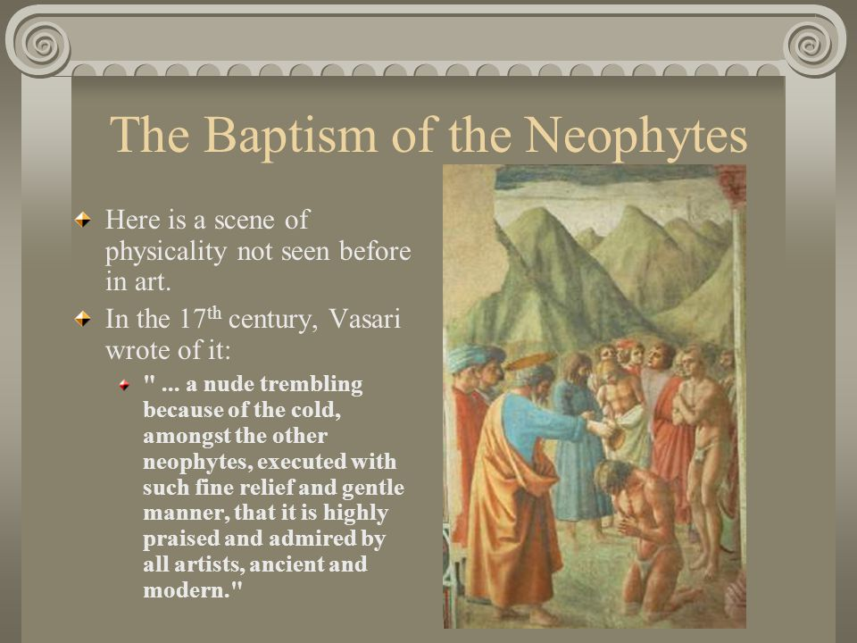 The Baptism of the Neophytes