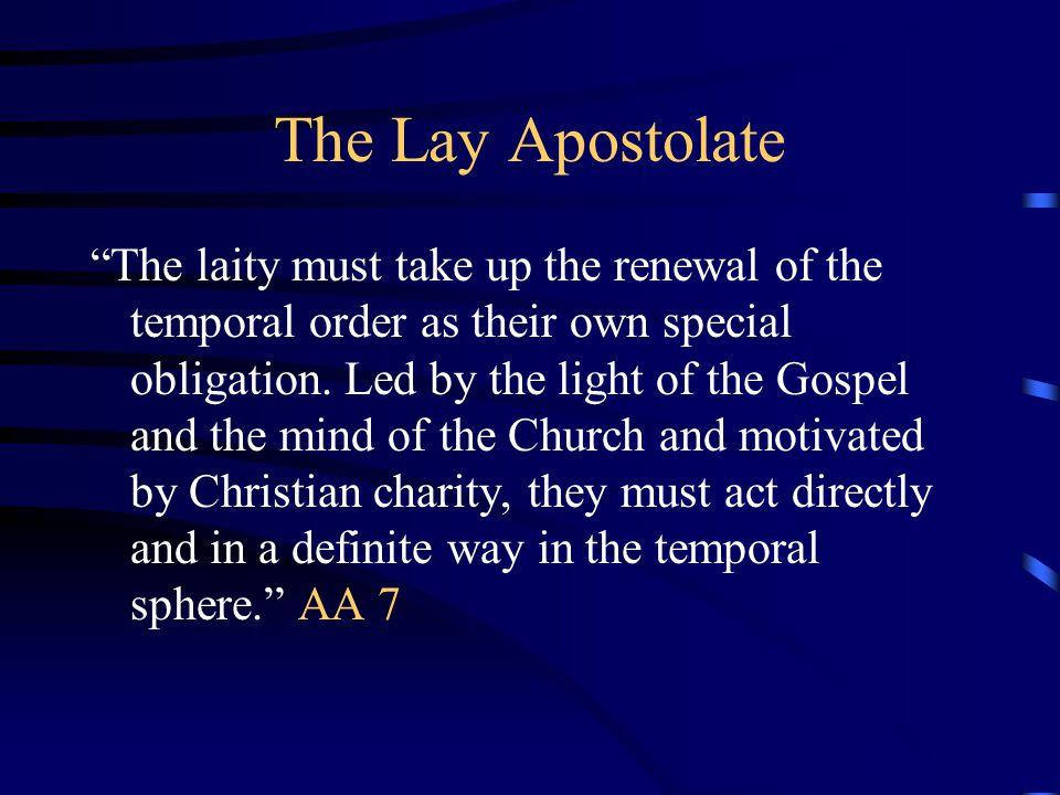 4/12/2017 The Lay Apostolate.