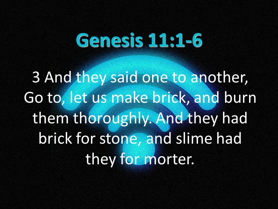Genesis 11:1-6