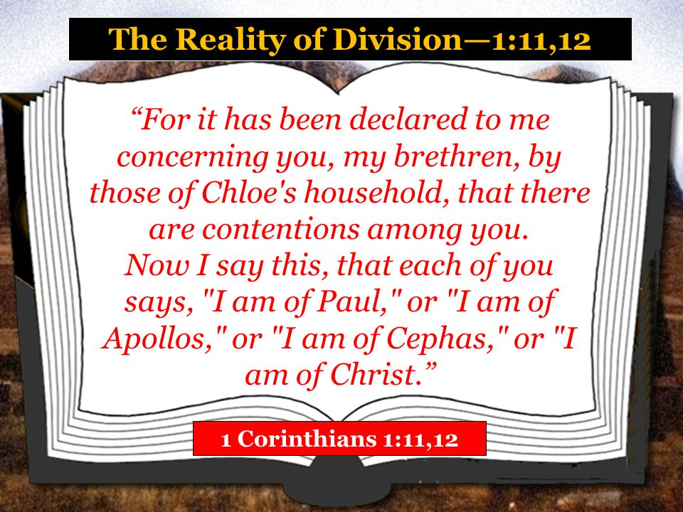 The Reality of Division—1:11,12