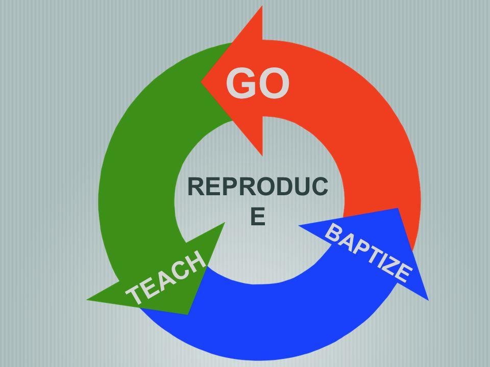 GO REPRODUCE BAPTIZE TEACH