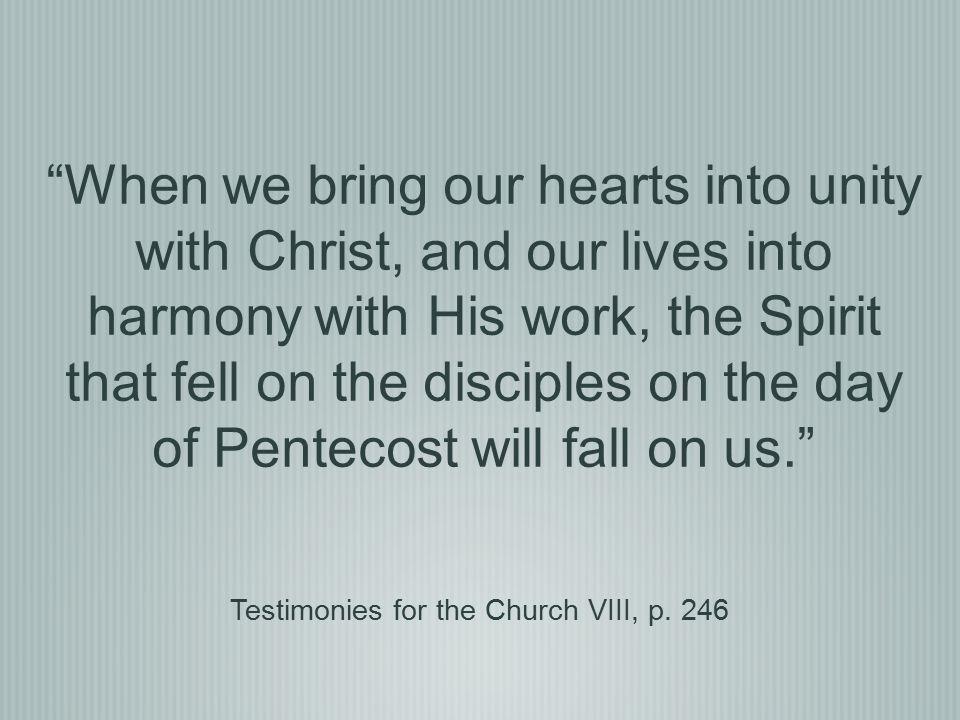 Testimonies for the Church VIII, p. 246