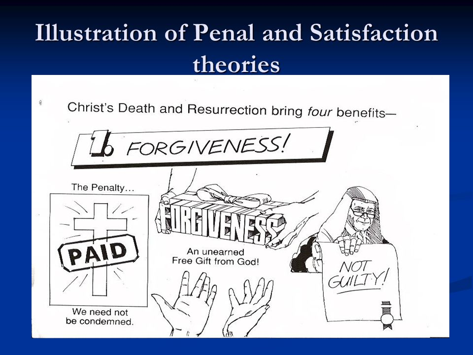 Illustration of Penal and Satisfaction theories