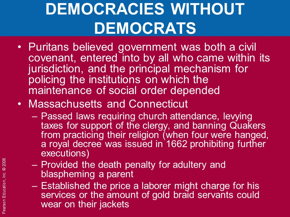 DEMOCRACIES WITHOUT DEMOCRATS