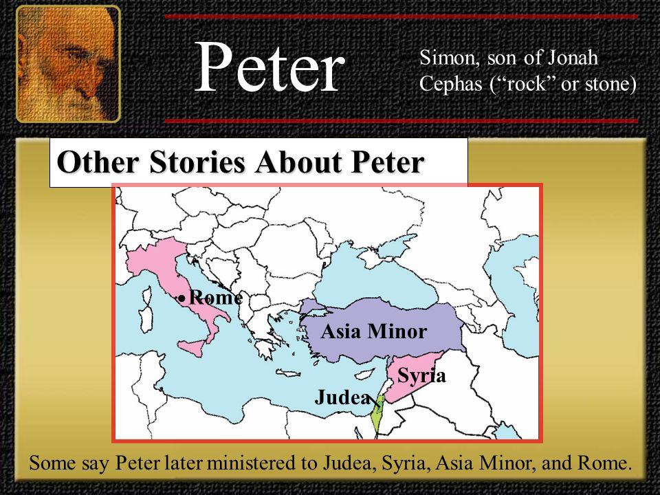 Peter Other Stories About Peter •