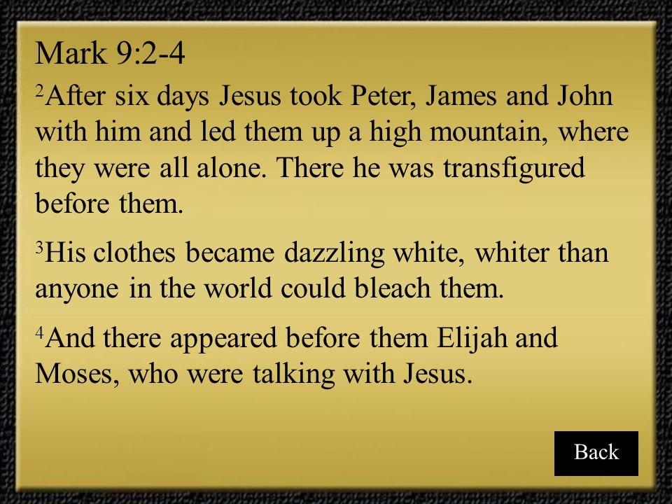 Mark 9:2-4
