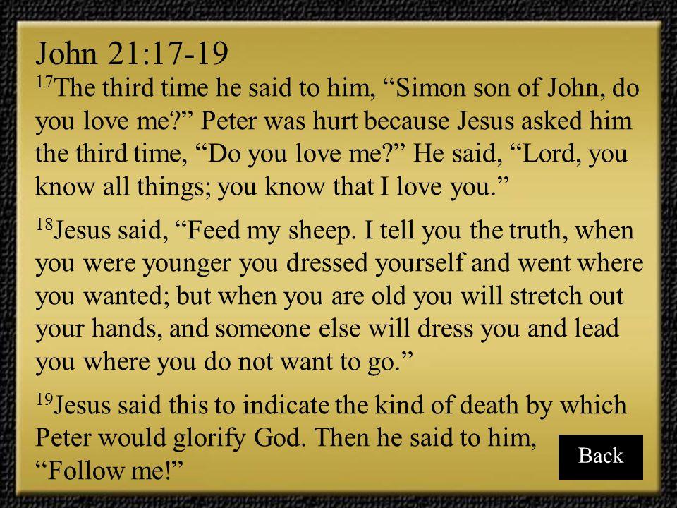 John 21:17-19