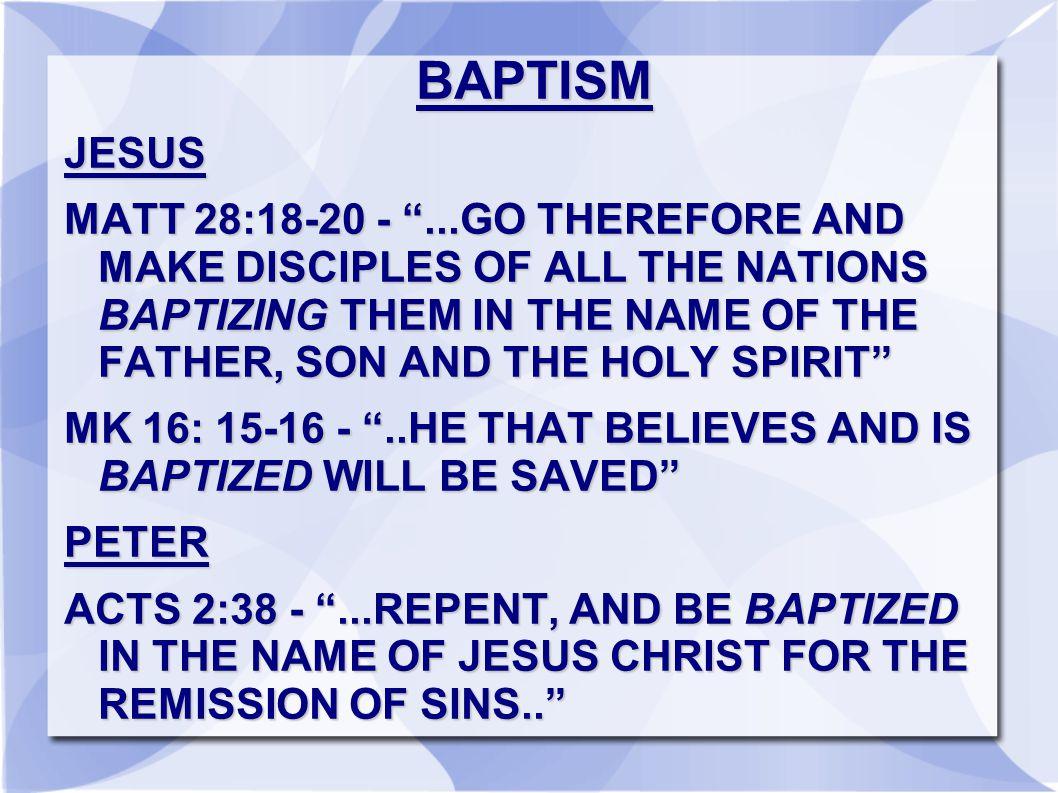 BAPTISM JESUS.