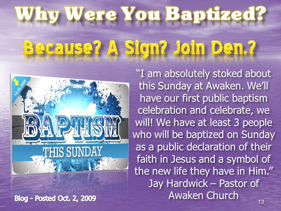 Jay Hardwick – Pastor of Awaken Church