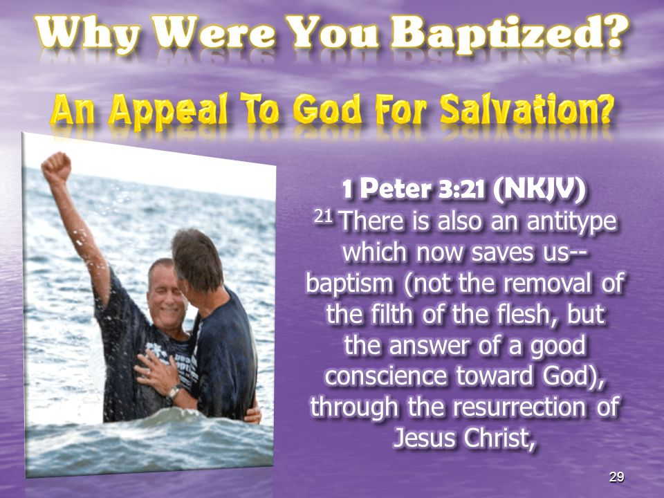 An Appeal To God For Salvation