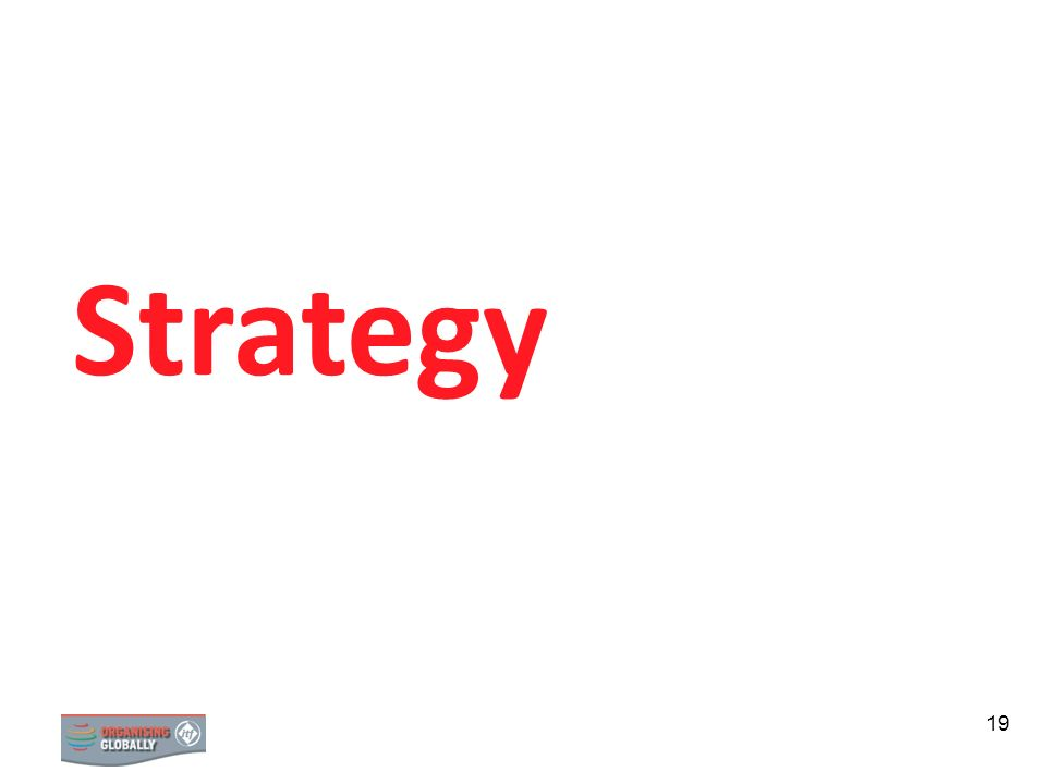Strategy Section 2: Strategy