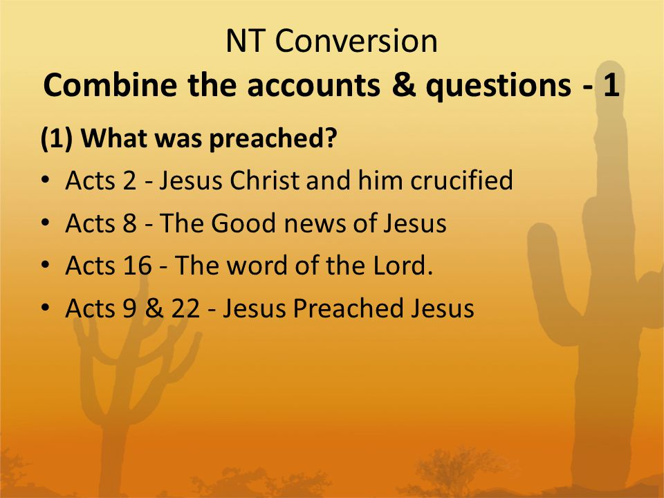 NT Conversion Combine the accounts & questions - 1