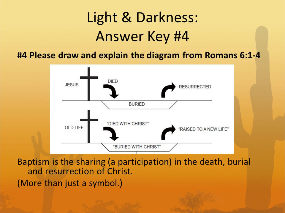 Light & Darkness: Answer Key #4