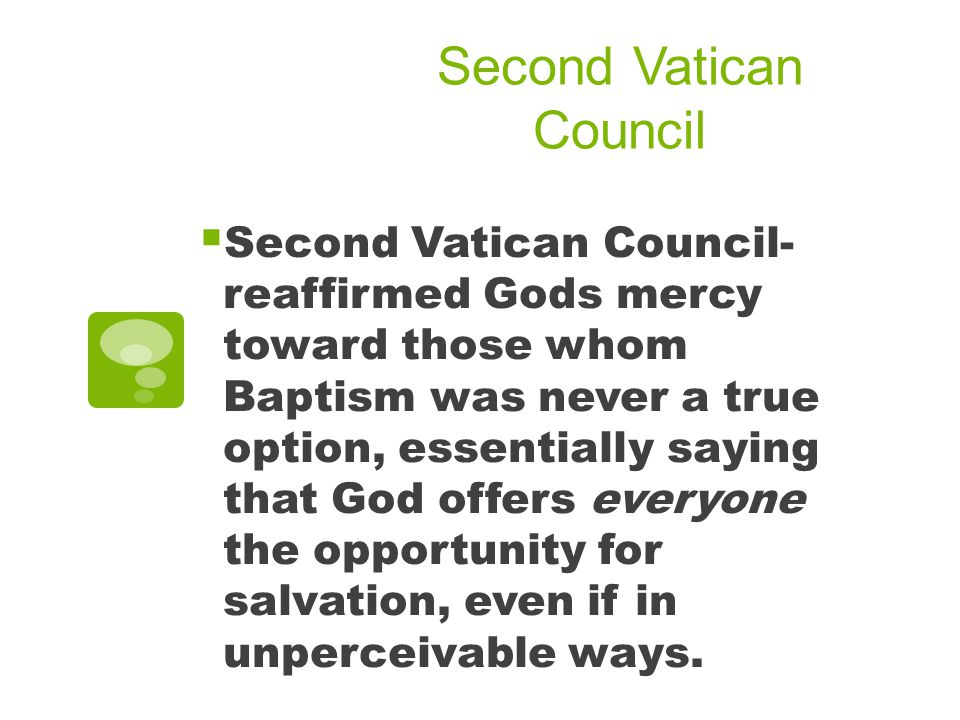 Second Vatican Council