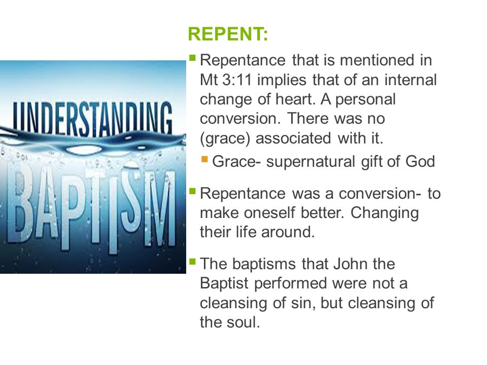 REPENT: