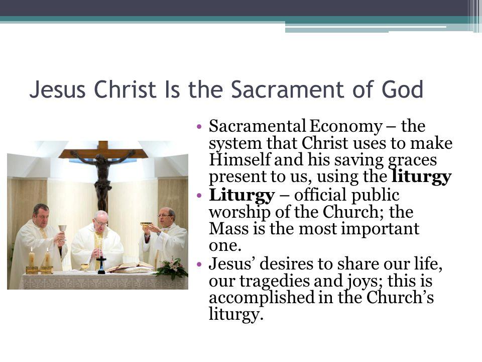 Jesus Christ Is the Sacrament of God