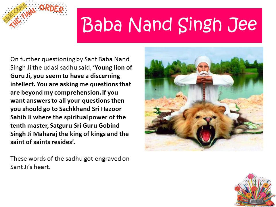 Baba Nand Singh Jee