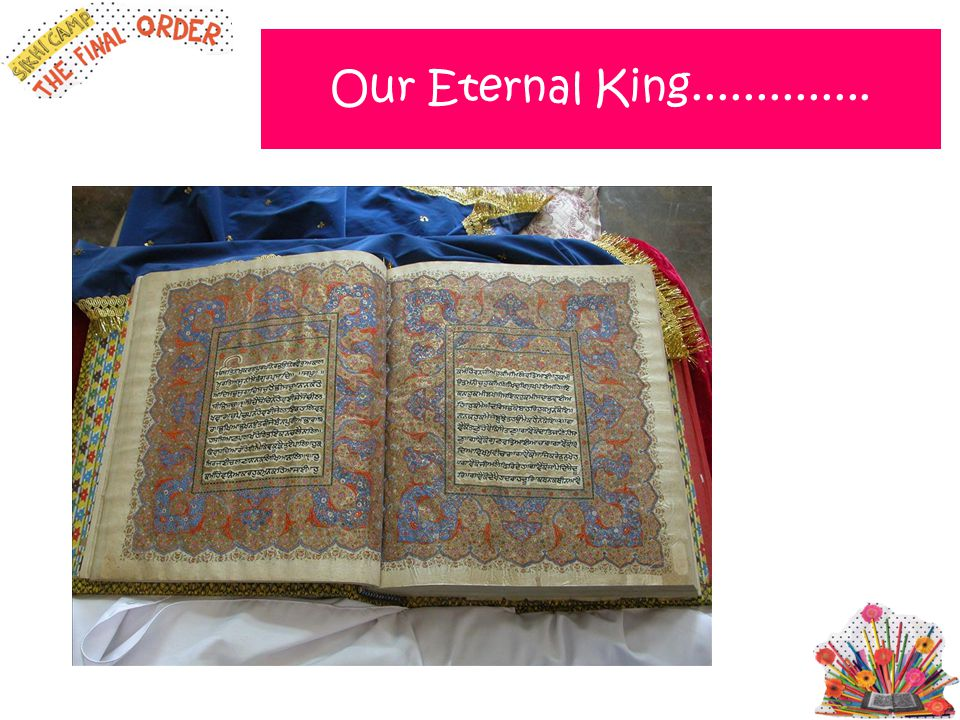 Our Eternal King..............