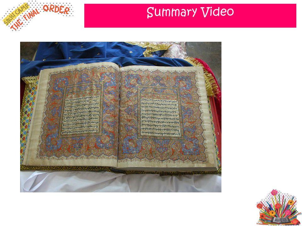 Summary Video SHOW VIDEO: http://www.youtube.com/watch v=VVvyl7gW6g4&feature=fvsr