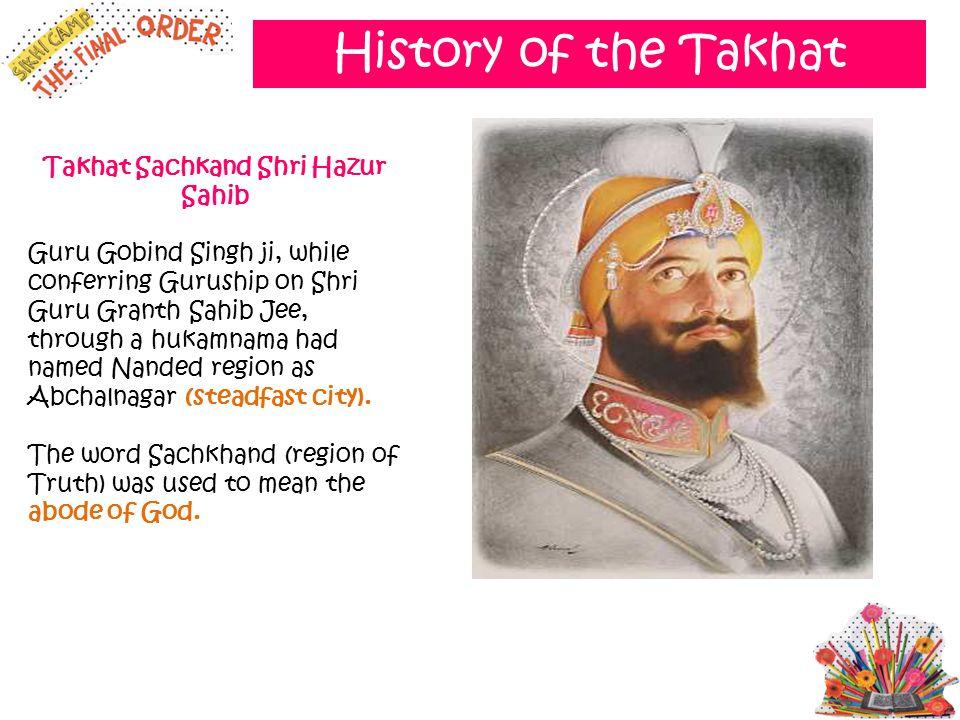 Takhat Sachkand Shri Hazur Sahib