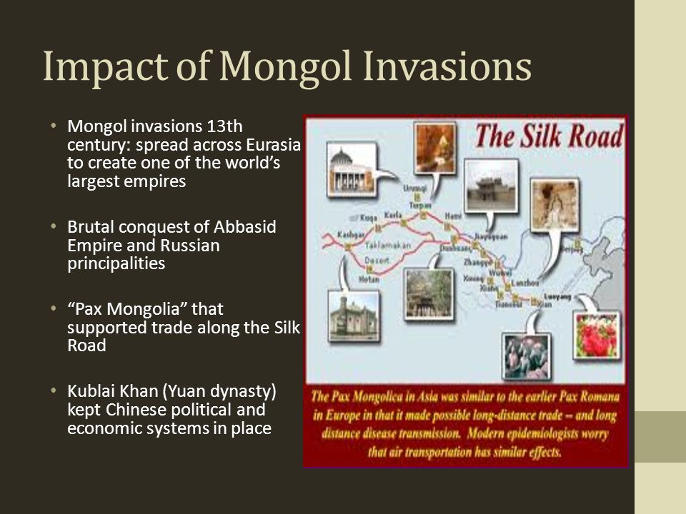 Impact of Mongol Invasions