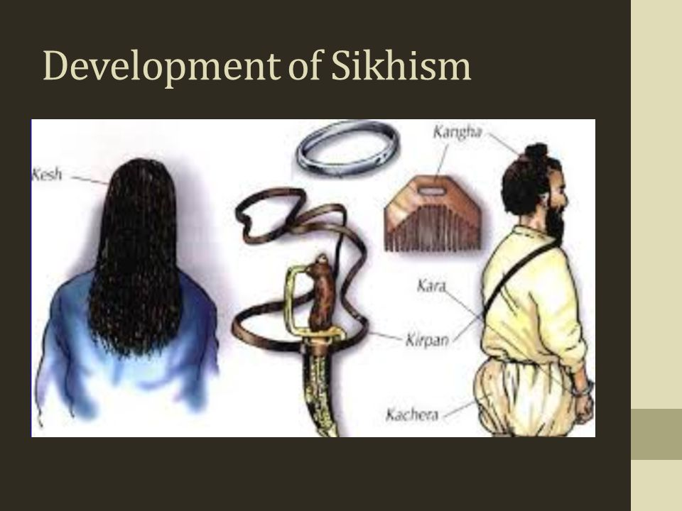 Development of Sikhism