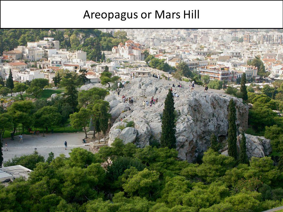 Areopagus or Mars Hill