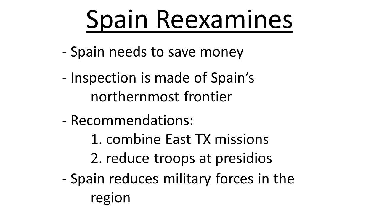Spain Reexamines - Spain needs to save money