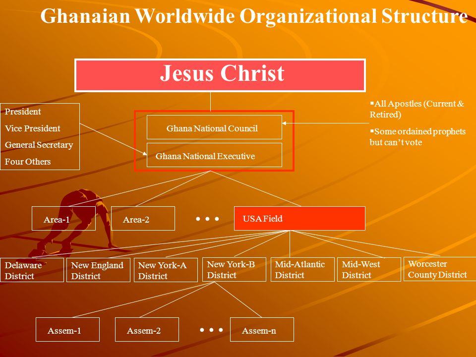 Ghanaian Worldwide Organizational Structure